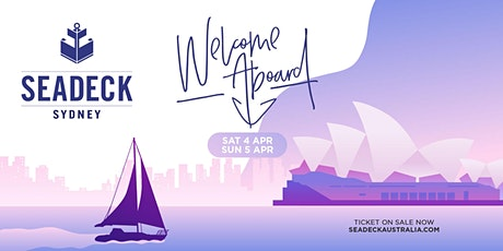 Seadeck Sunset Cruise - Sat 4th April - (Feat) Natalie Sax tickets