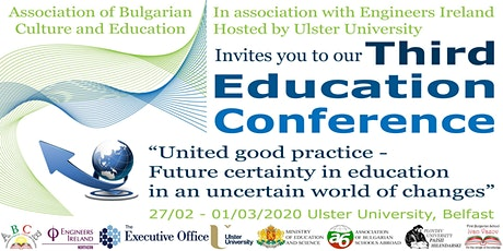 THIRD EDUCATIONAL CONFERENCE-BELFAST 2020 tickets