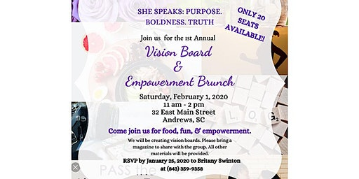 She Speaks: Vision Board and Empowerment Brunch