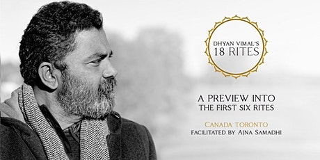 A Preview Into Dhyan Vimal's First 6 Rites of Creation and Meditation tickets