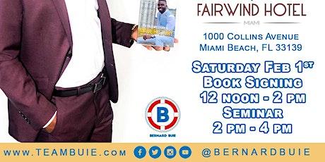 Bernard Buie Book Signing & Seminar tickets