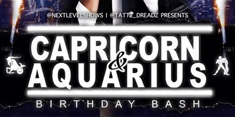 CAPRICORN Vs AQUARIUS tickets