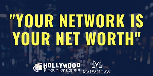 """Your Network is Your Net Worth"""