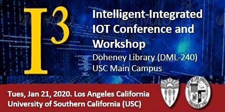 Jan-2020 Intelligent-Integrated IOT Conference and Workshop