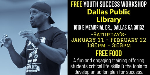Free Youth Succes Workshop (Saturday's)