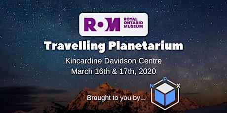 ROM Travelling Planetarium tickets