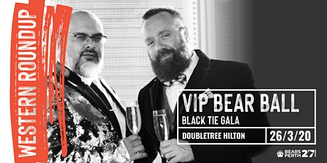 VIP BEAR BALL,  Black Tie Gala - Bears Perth event of Western Roundup 2020 tickets