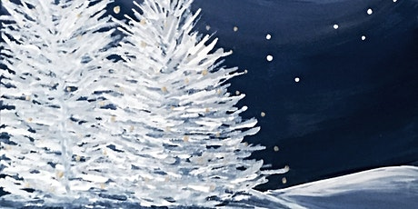 Painting Winter Frosy Night  Adults Class tickets