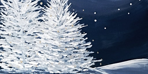 Painting Winter Frosy Night  Adults Class