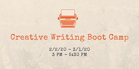 Creative Writing Boot Camp tickets