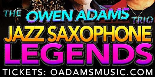 JAZZ SAXOPHONE LEGENDS ft. Eugene Chapman! - Jan 25, 2020