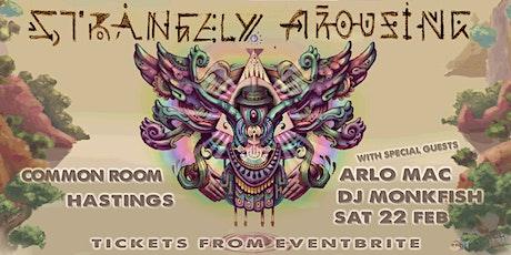 Strangely Arousing, Arlo Mac & DJ Monkfish tickets