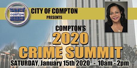 Crime Summit 2020 tickets