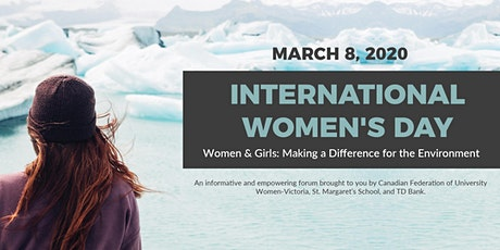 International Women's Day: Making a Difference for the Environment tickets