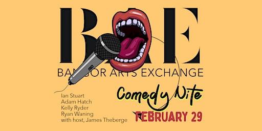 Comedy Nite at the Bangor Arts Exchange