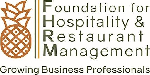 Foundation for Hospitality & Restaurant Management (FHRM) Gala Fundraiser