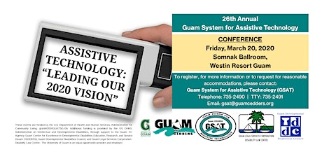 26th Annual GSAT Assistive Technology Conference tickets