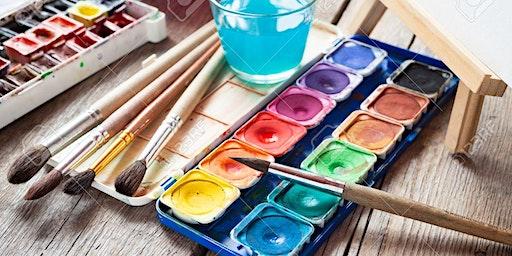 MONDAYS: Basic Watercolor (G.2-G.5) - 1,400 baht