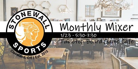 January Monthly Mixer tickets