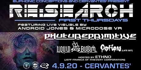 RE:Search ft Phutureprimitive w/ Liquid Bloom - Visuals by Android Jones tickets