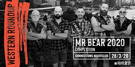 Mr Bear Perth 2020 Competition tickets onlyWestern Roundup 2020 tickets