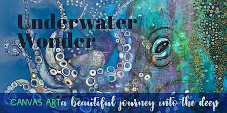 Underwater Wonder:  ★ Creatures of the deep: CANVAS ART ★ tickets
