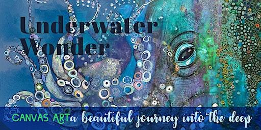Underwater Wonder:  ★ Creatures of the deep: CANVAS ART ★