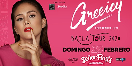 Greeicy Live at Señor Frogs Orlando, FL! | Baila Tour 2020