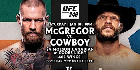 UFC 246: McGregor vs Cowboy tickets