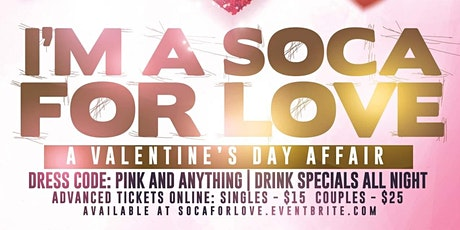 I am a SOCA for love tickets