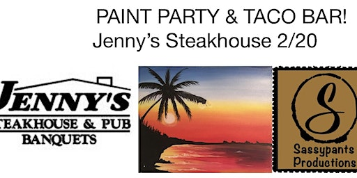 Paint Party at the Beach - Jenny's Steakhouse 2/20