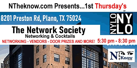 "NTheknow.com  presents... 1st Thursday's ""The Network Society"""