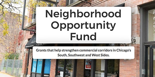Neighborhood Opportunity Fund Application Information Session