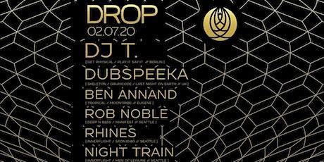 Innerflight » DROP: DJ T. › Dubspeeka › Ben Annand › Rob Noble tickets