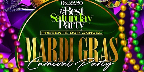 Mardi Gras Carnival Party (Hip-Hop+Reggae+Soca) @ Taj II – Everyone FREE! tickets