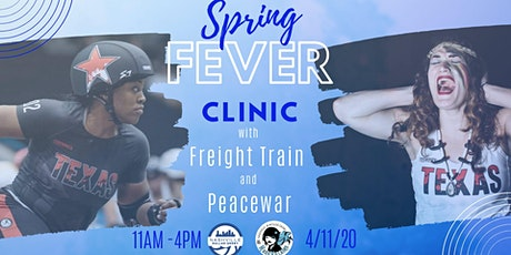 *POSTPONED* Freight Train and PeaceWar Spring Fever Clinic tickets