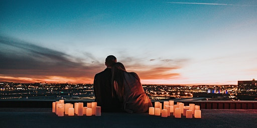 Roof Top Meditation , Candles &  Fairy lights