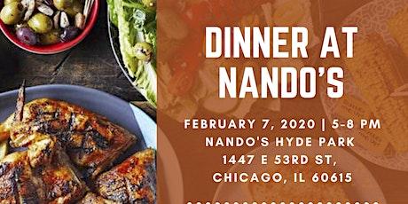 Dinner at Nando's tickets