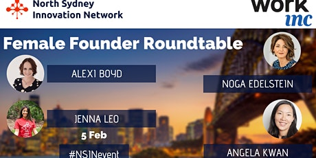 Female Founders Roundtable! tickets
