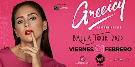 Greeicy Live at Wynwood Factory Miami, FL!   Baila Tour 2020 tickets