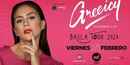 Greeicy Live at Wynwood Factory Miami, FL! | Baila Tour 2020