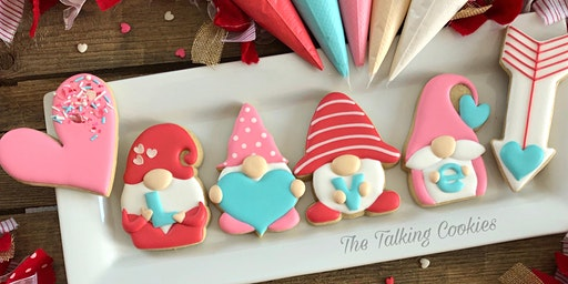 SOLD OUT! I Love You Gnome Matter What - Valentine's Beginner Cookie Decorating Class