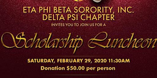Eta Phi Beta Sorority Inc. - Delta Psi Scholarship Luncheon