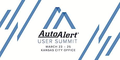 AutoAlert User Summit tickets