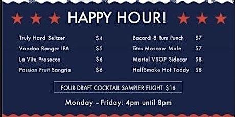 Happy Hour at HalfSmoke tickets