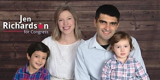 Morgan Ingle + music = fun & fundraising for Jen Richardson for Congress