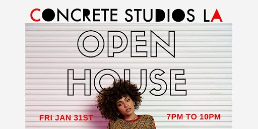 Concrete Studios OPEN HOUSE