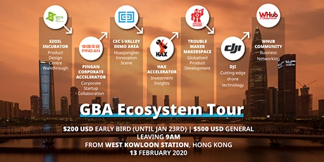 Greater Bay Area Tour - Shenzhen tickets
