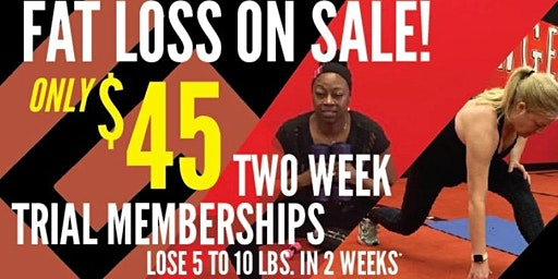 2-Week January TRIAL/On-Boarding Session 2 at Chicagoland Fat Loss CHICAGO