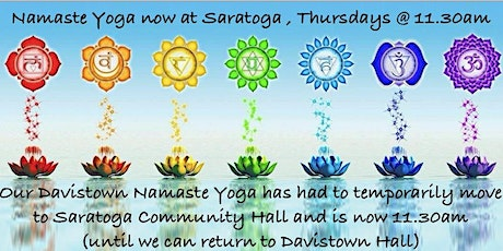 Namaste Yoga @ SARATOGA tickets